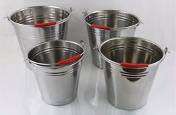 Ice Buckets - Stainless Steel - Carry Handle