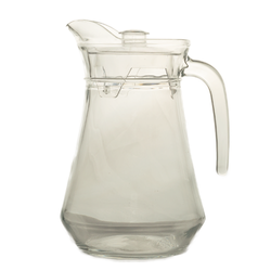 Glassware - 1.5L Glass Juice Jug With Lid