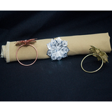 Napkin Ring -  Leaf Design