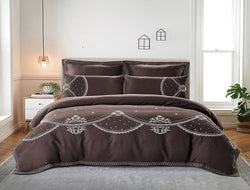 Cotton Comforter Set - 7pc Lomond