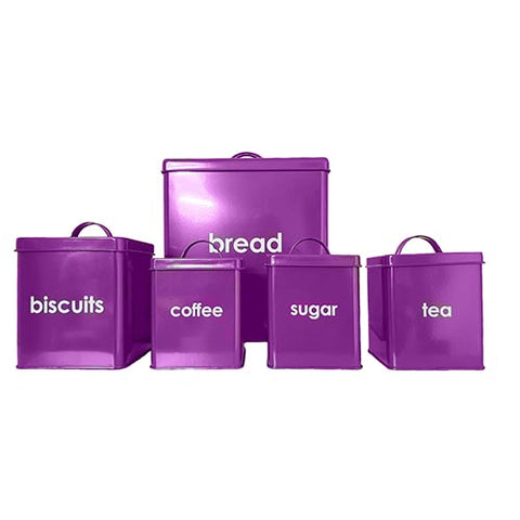 Kitchen Storage Sets - 5PC