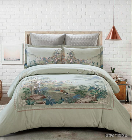 Cotton Comforter Set - 7pc New York