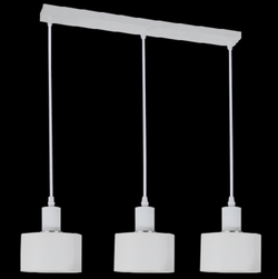 Pendant Light - PEN245/3 White