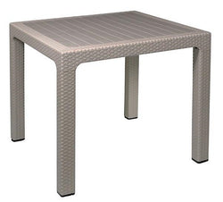 Protea Outdoor Rattan Cafe Table - 4 Seater