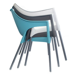 Cafe Chairs - Plastic Moulded