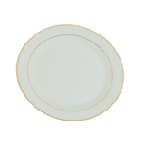 Dinner Plates - Double Gold Rim Round