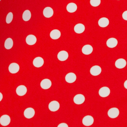 Printed Mini Matt 150cm - Polka dots small