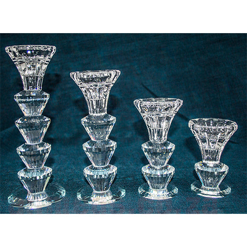 Candle Holder -  Prism Glass 439