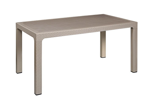 Protea Outdoor Rattan Cafe Table - 6 Seater