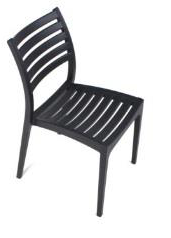 Rimini Chair - Slatted Dining Chair