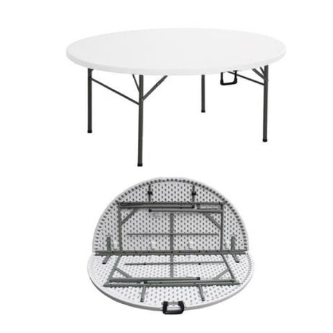 10 Seater Round Folding Table