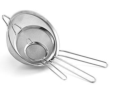 Kitchenware - Steel Strainers