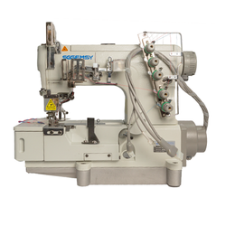 Gemsy 5500D - Industrial Cover Seam / Chain Stitch Machine Direct Drive