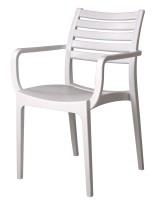 Sienna Arm Chair - Slatted & Solid Combo Dining