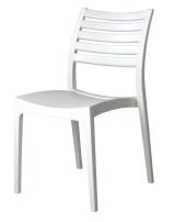 Sienna Chair - Slatted & Solid Combo Dining Chair