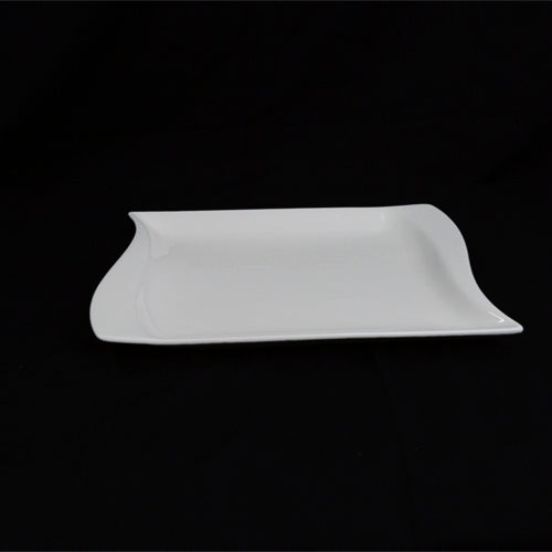 Dinner Plates - Rectangle  - Wave Design