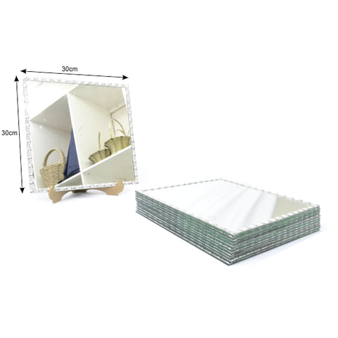 Mirror Underplate - Square