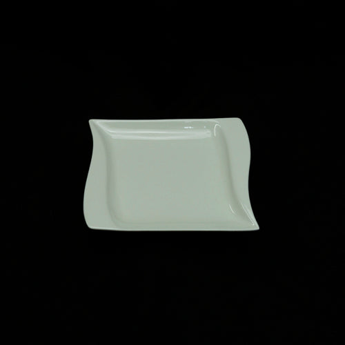 Side Plates - Rectangle  - Wave Design