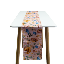 Table Runner - Printed dutch satin
