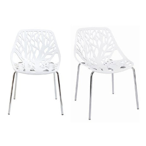 Chairs - Leaf Chair Square Back - Dining Chair
