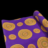 Printed Polycotton - Venda Circle