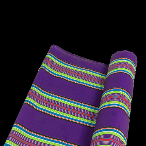 Printed Polycotton - Venda Stripe