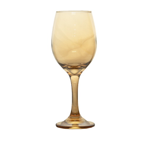 Wine Glass - Gold -  6's