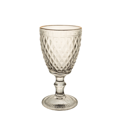 Wine Glass - Crystal Gold Rim - 6's