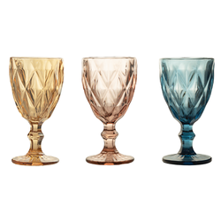 Wine Glass - Crystal Colours - 6's