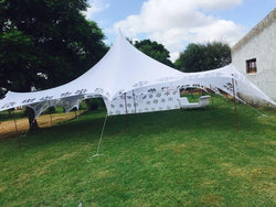 Decor Tents - Stretch Lycra - Non Waterproof - With Poles