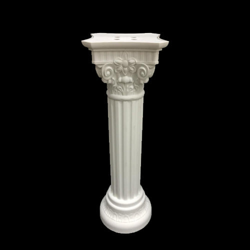 Plastic Pillar Flower Stand - Design 1