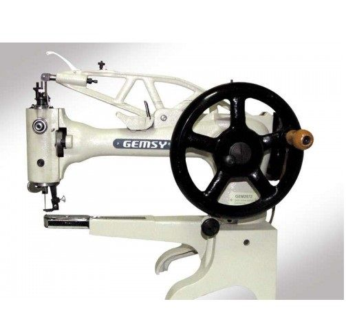 Gemsy 2972-  Industrial Walking Foot Patching Machine