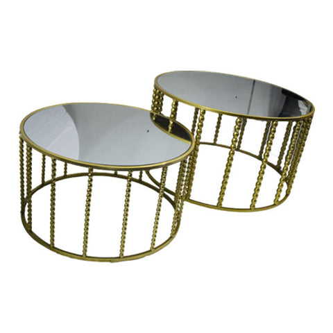 Table - Double Mirror Coffee Table
