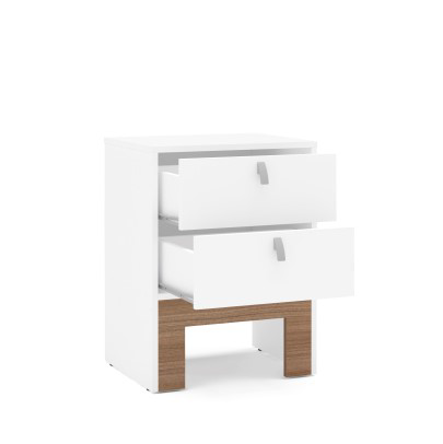 Pedestal - 2 Drawer Easy Click