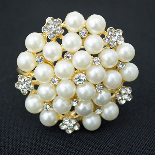Napkin Ring - Pearls