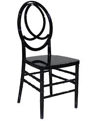 Phoenix Chair Black Resin