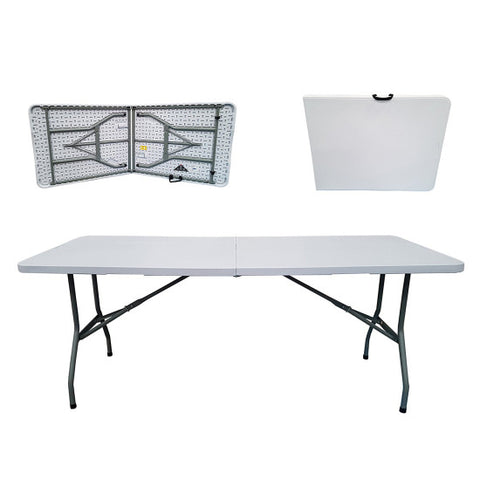 6 Seater Folding Rectangular Trestle Table