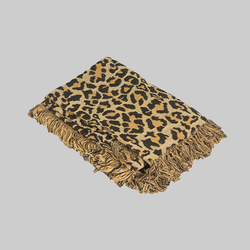 Throws - Chenille Tiger Design