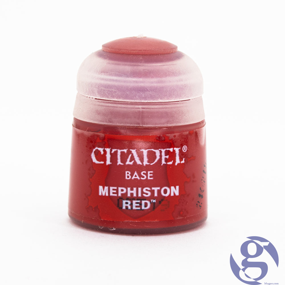 Games Workshop: 21-03 - Mephiston Red Citadel Base Miniature Paint