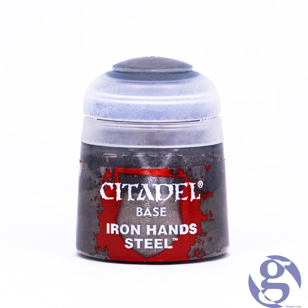 Games Workshop: 21-46 - Iron Hands Steel Citadel Base Miniature Paint