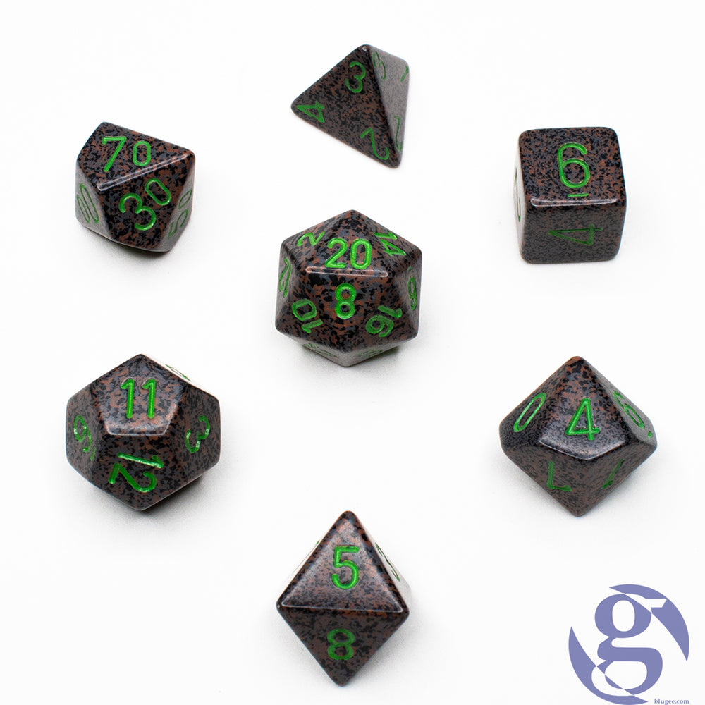Chessex: CHX 25310 - Speckled Earth Polyhedral 7-Die Set