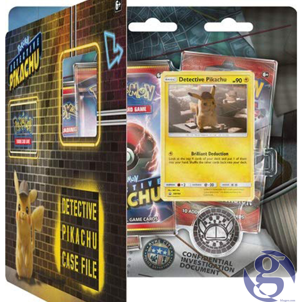 The Pokemon Company 290-81384: Detective PiKachu - Case Files (x12) Pokemon Trading Card Game