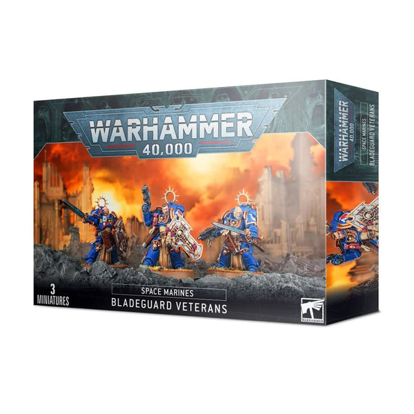 Games Workshop 48-44: Bladeguard Veterans Warhammer 40K Plastic Miniatures