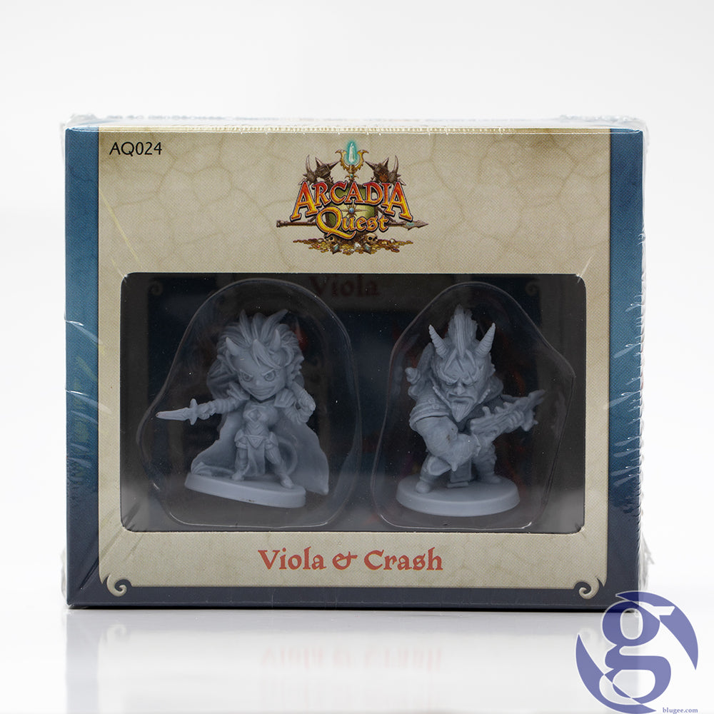 CMON: AQ024 - Arcadia Quest Viola and Crash