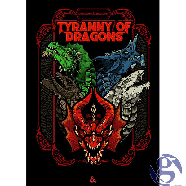 Wizards of the Coast C7741000 - Dungeons and Dragons RPG: Tyranny of Dragons Collectors Edition