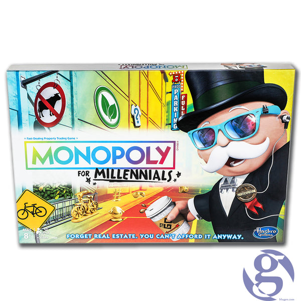 Hasbro: E4989 - Monopoly for Millennials