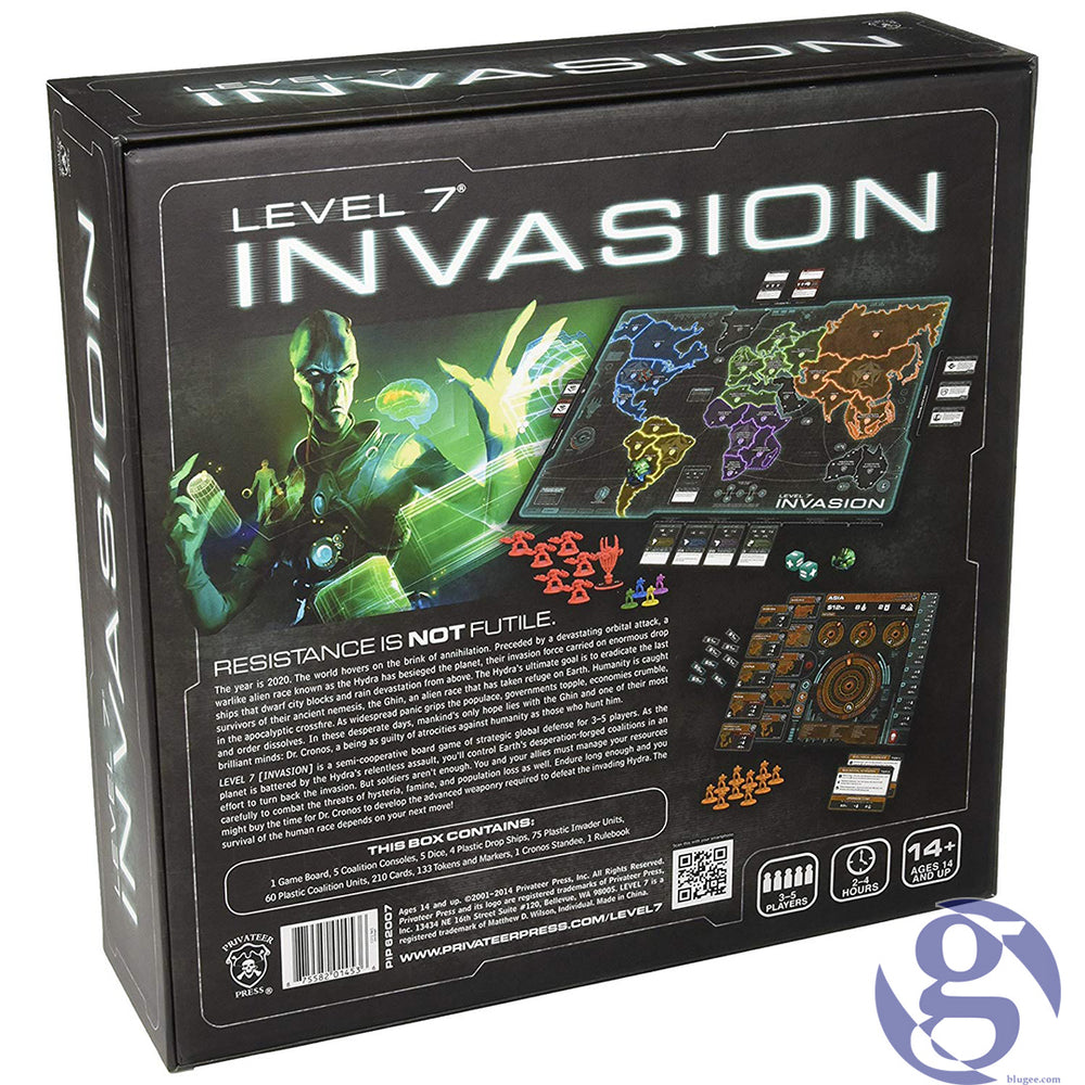 Privateer Press: PIP62007 - Level 7 Invasion the Board Game