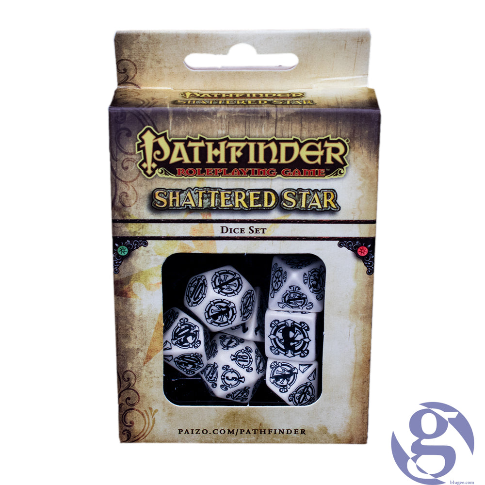 Q Workshop: QWS SPAT 02 - Pathfinder Shattered Star Polyhedral 7-Dice Set