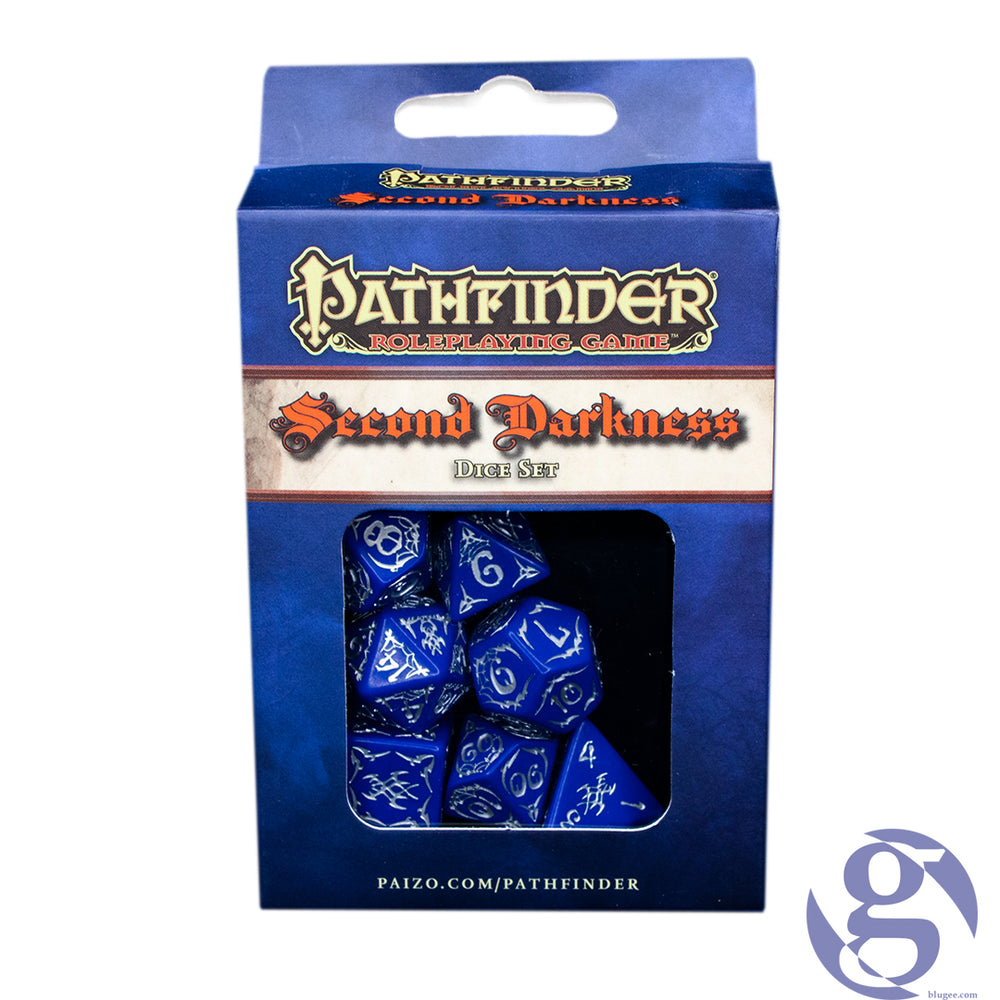 Q Workshop: QWS SPAT24 - Pathfinder Second Darkness Polyhedral 7-Dice Set