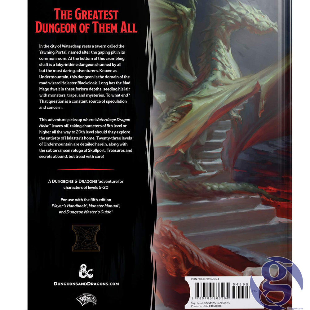 Wizards of the Coast C46590000 - Dungeons and Dragons RPG: Waterdeep - Dungeon of the Mad Mage